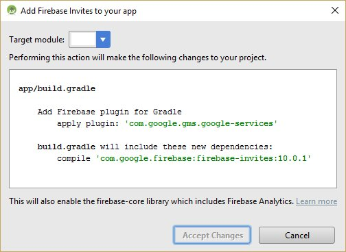 How To Add Firebase AppInvite To Android | Lua Software Code