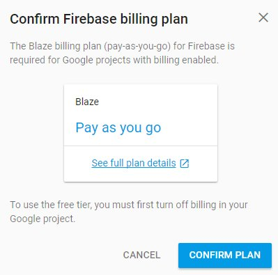 Firebase Import Google Project