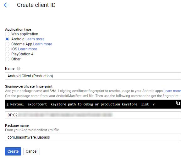 Setup Android Google Drive Api | Lua Software Code