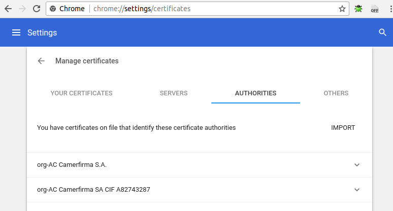 Self Signed SSL For Nginx And Chrome Trusted Authority (Ubuntu